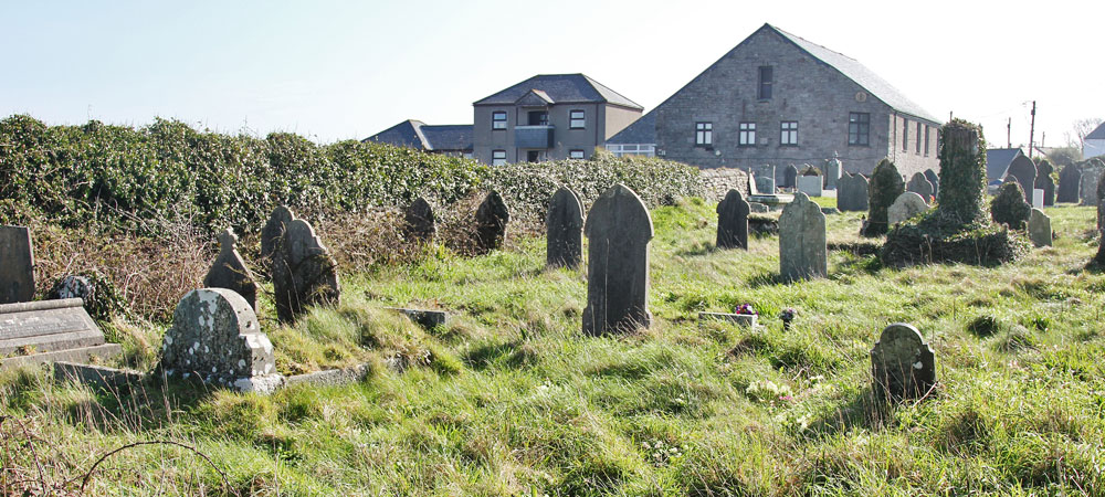 St Just Miners' Chapel Graveyard